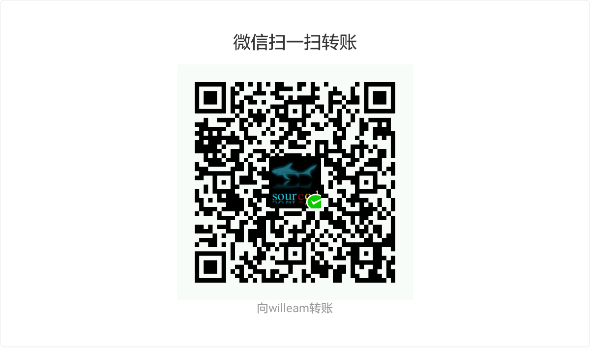 WilleamZhao WeChat Pay